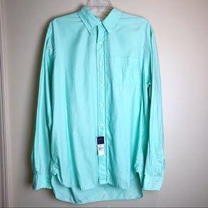 Ralph Lauren• Teal Button Down Dress Shirt